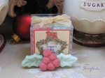 Sugars by Sharon Mini Holly Leaf & Berry Christmas Sugar