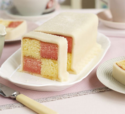 Battenberg Birthday Cakes